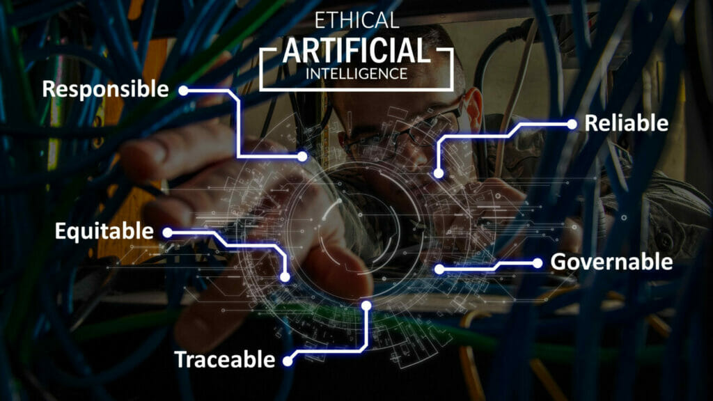 Defense Department ethical artificial intelligence graph